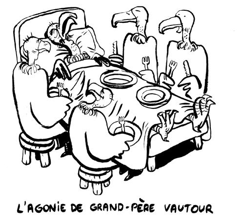 Des Vautours et des Hommes Agonie_papi_vautour_NB